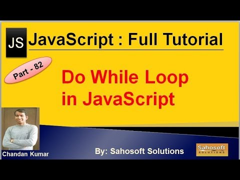 Do While Loop in JavaScript | JavaScript Full Tutorial in Hindi thumbnail