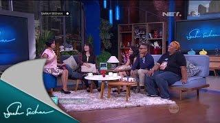 Sarah Sechan Kedatangan Nobita, Shizuka, Suneo, dan Gian