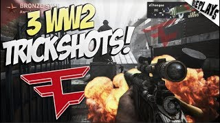 HE HIT BACK TO BACK GAMES! (3 Trickshots) - WW2 SND Trickshotting!