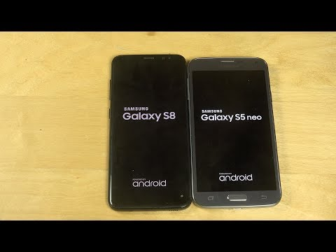 Samsung Galaxy S8 vs. Samsung Galaxy S5 Neo - Which Is Faster?