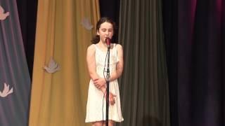 13. Соня Бунина -  стихотворение. Театр-студия Палмэ. Открытый урок-концерт, 2017 г.