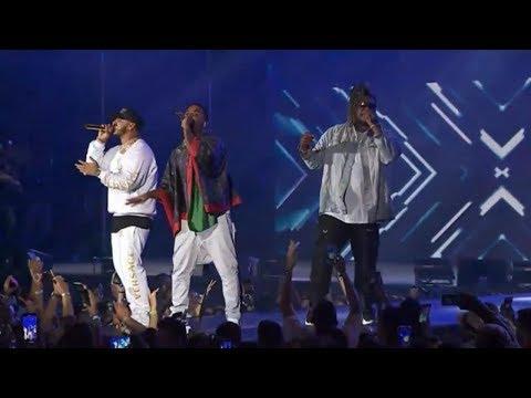 Hipócrita - Anuel AA  Y Zion  EN VIVO 2019 (Premios Heat)