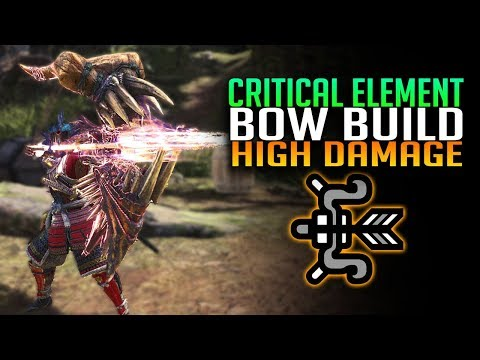 Critical Element Bow Build - Doom's Shaft - Monster Hunter World PC/PS4/Xbox thumbnail
