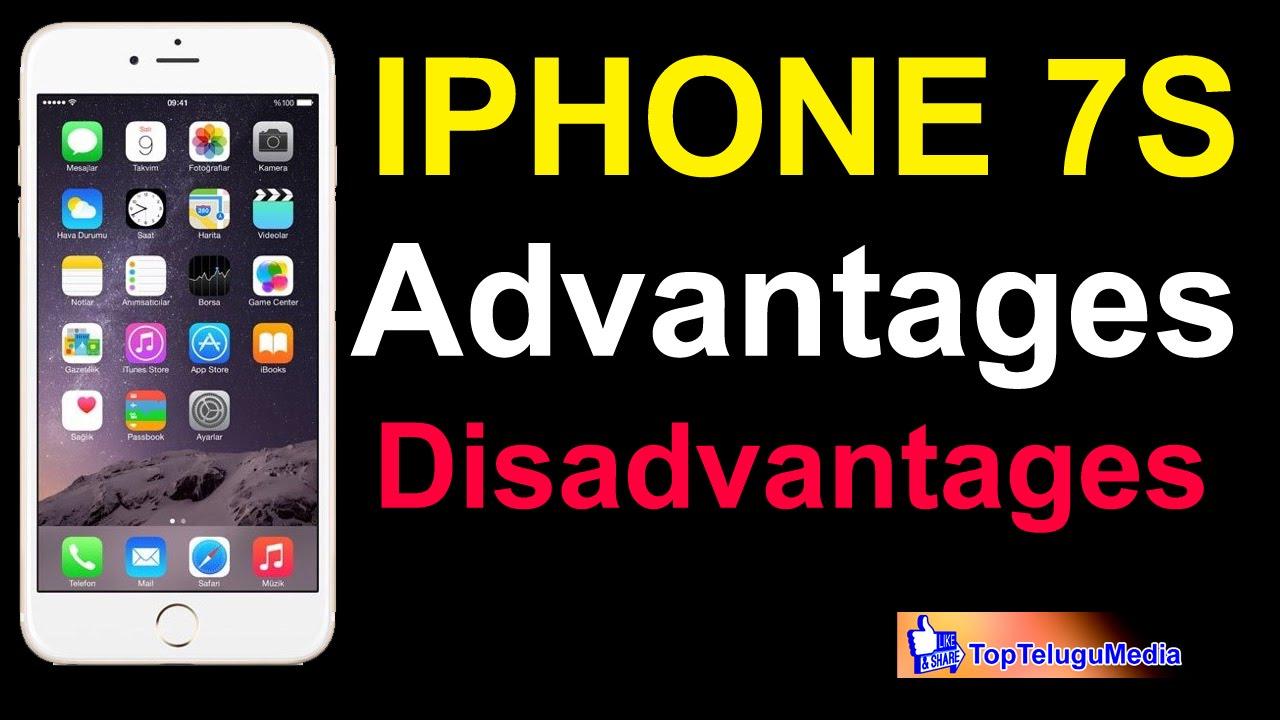 Iphone 7 Advantages and Disadvantages|Top Telugu Media