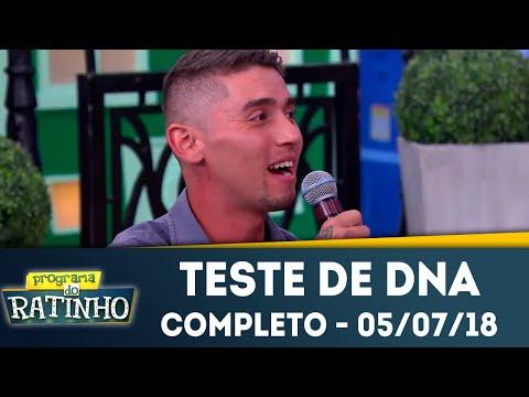 Teste De DNA - Completo | Programa Do Ratinho (05/07/2018)