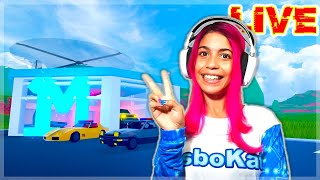 ROBLOX JAILBREAK LIVE 🔴 PLAYING WITH VIEWERS!  Stream LisboKate (Sep 25)