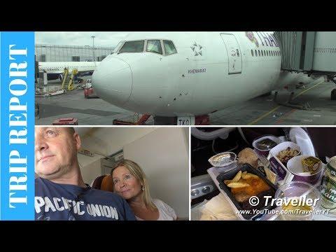 Tripreport - Thai Airways Economy Boeing 777 Flight To Suvarnabhumi From Copenhagen Airport