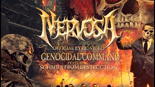 NERVOSA - Genocidal Command (Official Lyric Video)   Napalm Records