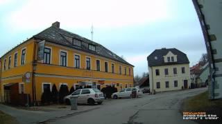 CZ: Frymburk nad Vltavou (Friedberg). Jihočeský kraj. Exploring the town. February 2017