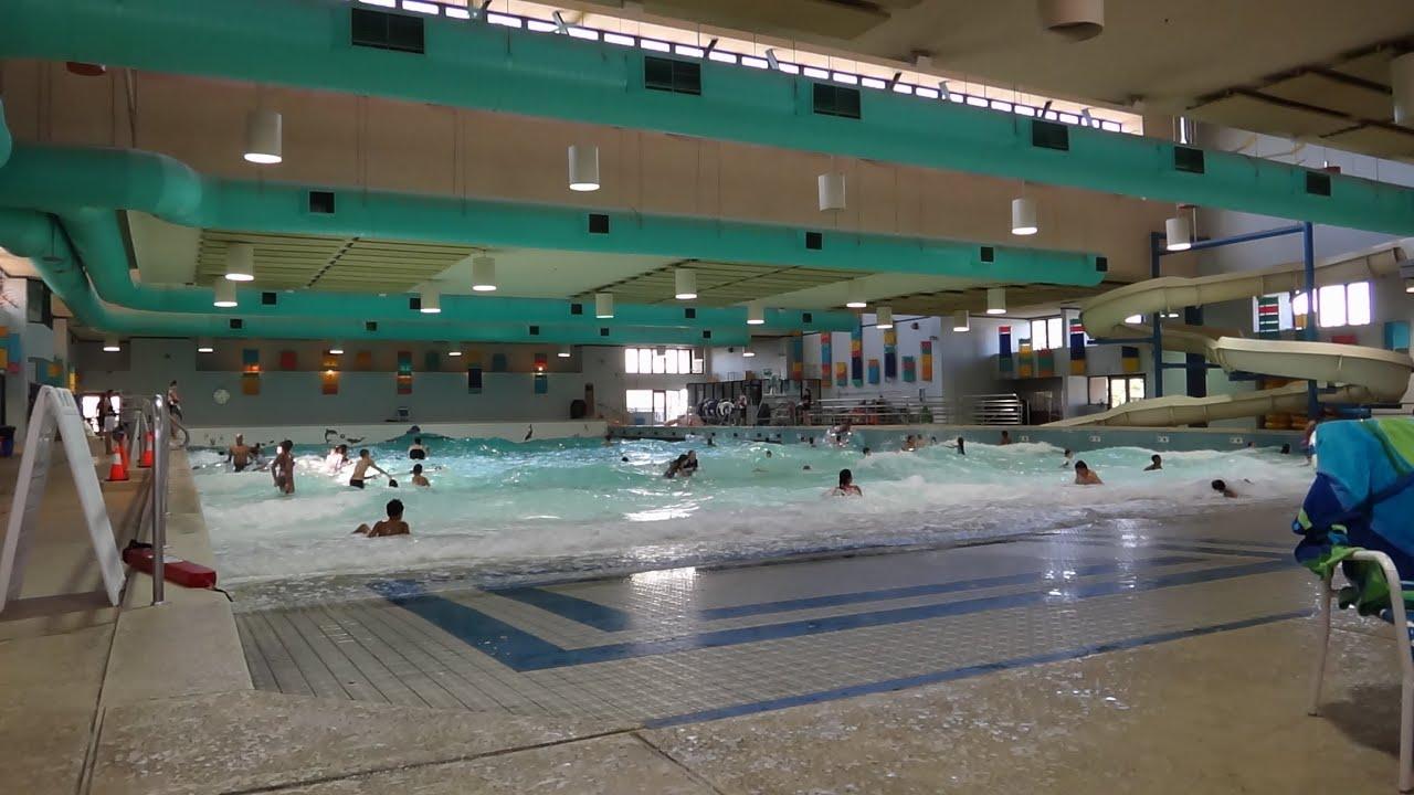 Kiwanis Indoor Wave Pool Youtube