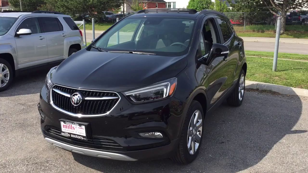 2017 buick encore premium awd heated seats sunroof black oshawa on stock 171395 youtube. Black Bedroom Furniture Sets. Home Design Ideas