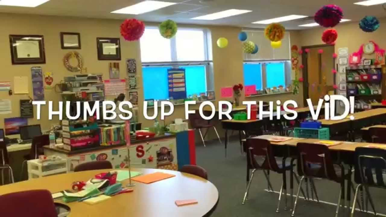 Elementary Classroom Playlist ~ Classroom tour youtube