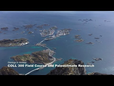 Geology in Norway: COLL 300 field course and paleoclimate research