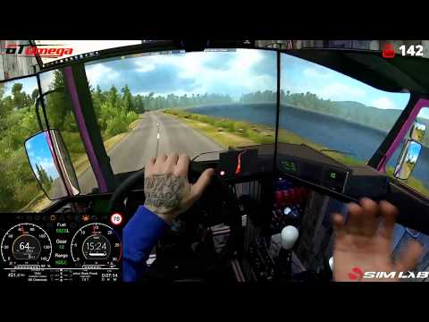 Euro Truck Simulator 2/ New Save Game / Career Three/ Steering Wheel+shifter