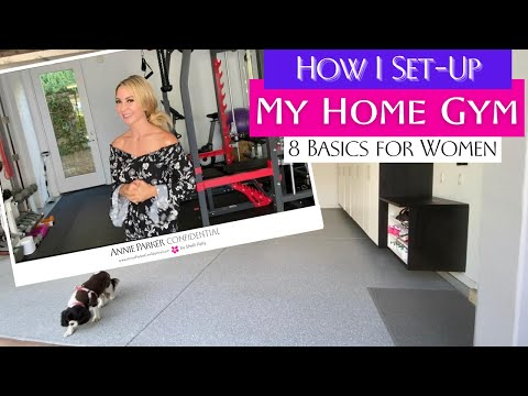 How I Set-Up My HOME GYM | 8 AFFORDABLE BASICS for Women