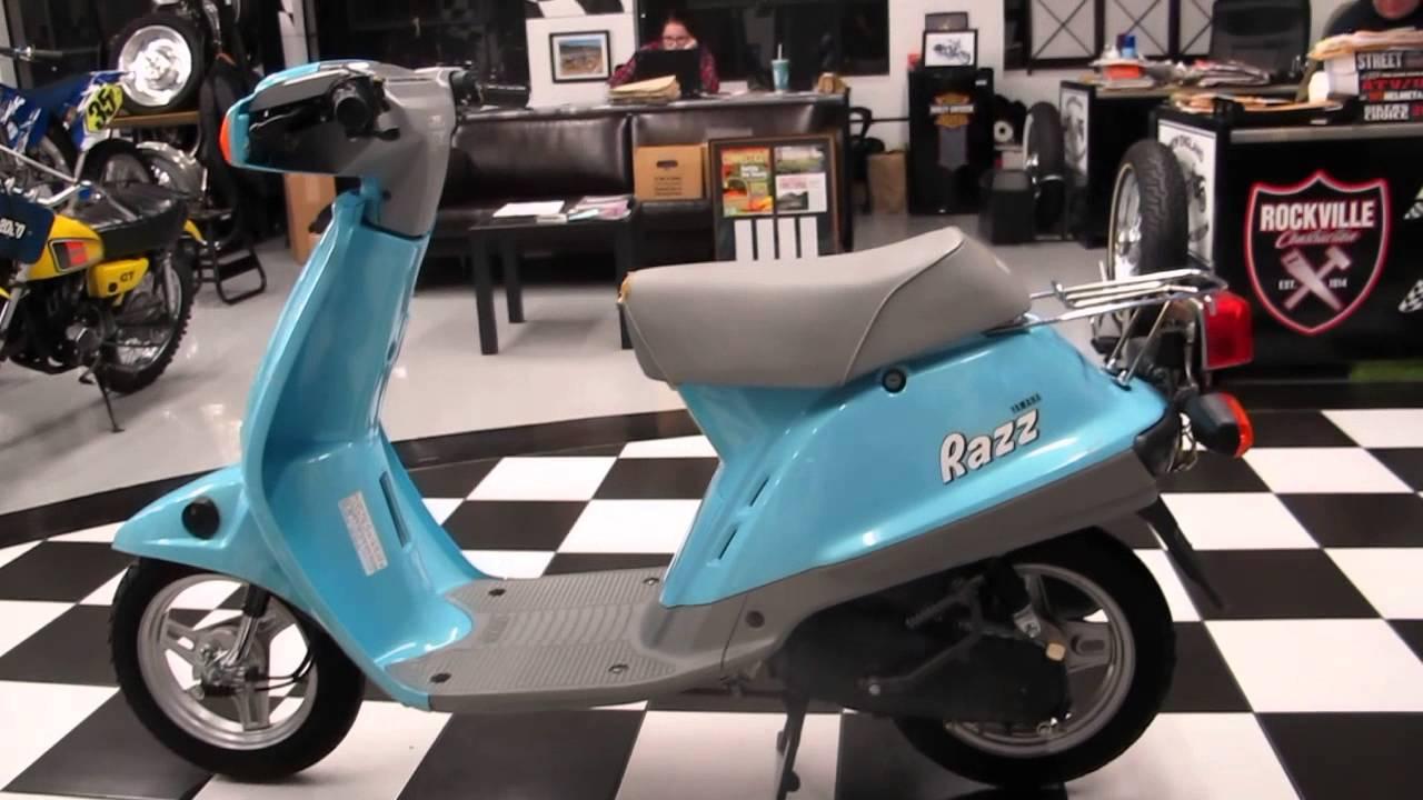 1987 Yamaha Razz 50 Scooter