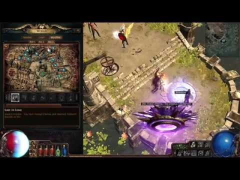 Path of Exile - 6L Zombies/Raging Spirits - Mapping