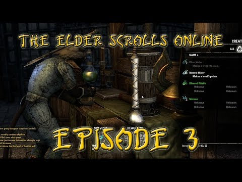 The Elder Scrolls Online Beta - Crafting System Preview - Episode 3