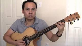 hoc guitar buoc thu 2 dieu bolero (cover)