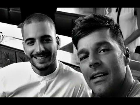 Maluma desmiente que sea Gay, niega relación amorosa con Ricky Martin!!!