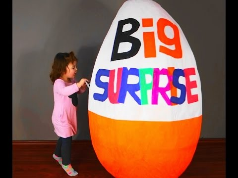 many-toys-giant-egg-surprise-opening-big-surprise-fun-for-kids-at-home-playground-baby'a-adventure