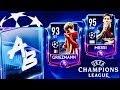 CHAMPIONS LEAGUE PACKS OPENING - I Claimed All Messi Stage Packs In champions league fifa Mobile 19