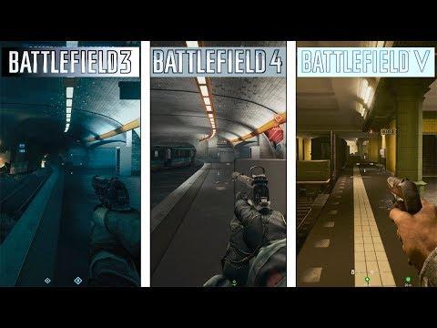 Battlefield 5 VS 4 VS 3 | Operation Metro | Map Evolution
