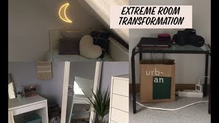 EXTREME ROOM TRANSFORMATION!!!