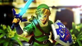 Zelda Stop Motion - Figma Link and Black Rock Shooter 薩爾達傳說停格動畫