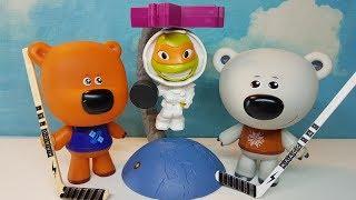 МиМиландия, Новая серия,Хоккей с инопланетянином,stop motion,мульт с игрушками