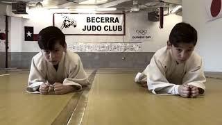 Урок Дзюдо для детей