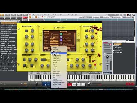 Akai MPC Software  how to change  nexus 2  VST GUI
