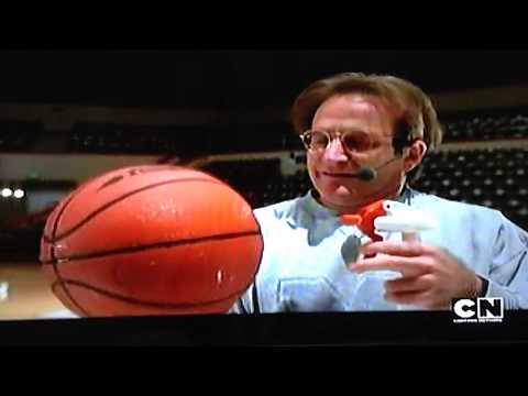 Flubber - Basketball Experiment