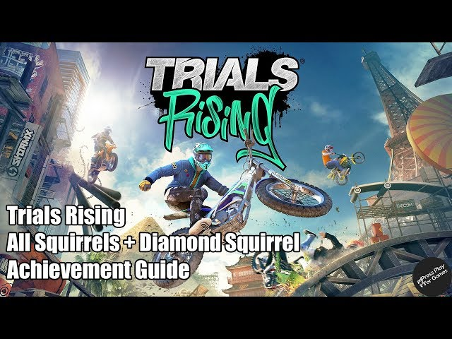 Trials Rising - All 62 Squirrels and Diamond Squirrel!