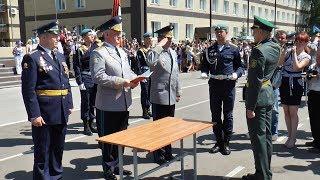 Выпуск в Рязанском училище ВДВ 2018. РВ ТВ