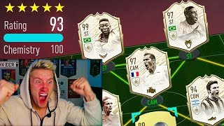 193 FUT DRAFT! Beating W2S World Record! (FIFA 20)