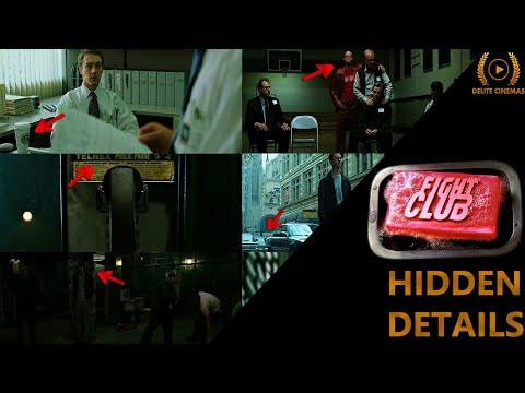 Hidden Details In Fight Club (1999) Movie With English Subtitles L By Delite Cinemas
