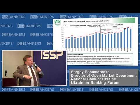 The Currency Market in Ukraine by Sergey Ponomarenko, National Bank of Ukraine