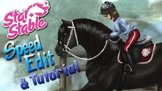 "★ Star Stable ★ Speed Edit + Tutorial/Tips - ""Winter Ride"""