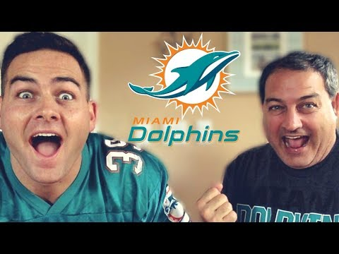 MIAMI DOLPHINS VS  CHICAGO BEARS REACTION! MUST WATCH!!