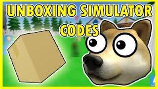 Tutti i codici Roblox Unboxing Simulator