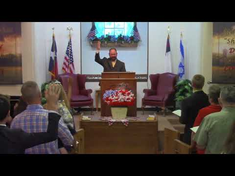 Sunday Evening Service 7-30-2017