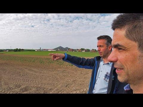 Direction le Nord sur les fermes de Cyrille et Thierry