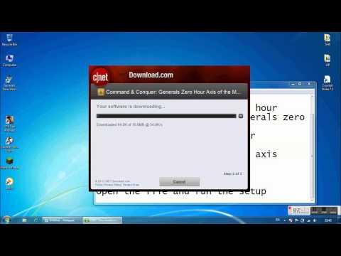 How to download generals zero hour axis matrix mod