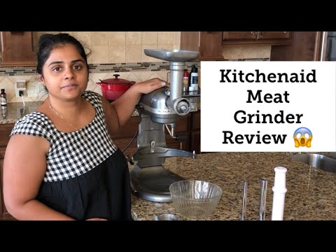 Kitchenaid Meat Grinder Attachment Review | Kitchen Appliances Review In Tamil | Home Appliances