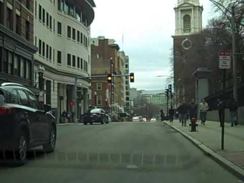 Boston MA Christmas Street Tour (Daytime)