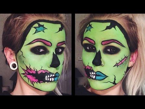 images?q=tbn:ANd9GcQh_l3eQ5xwiPy07kGEXjmjgmBKBRB7H2mRxCGhv1tFWg5c_mWT Ideas For Pop Art Makeup Zombie @koolgadgetz.com.info