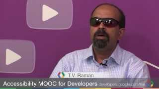 Google Developers Live: Accessibility MOOC