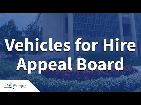 Vehicles For Hire Appeal Board  - 2018 07 13
