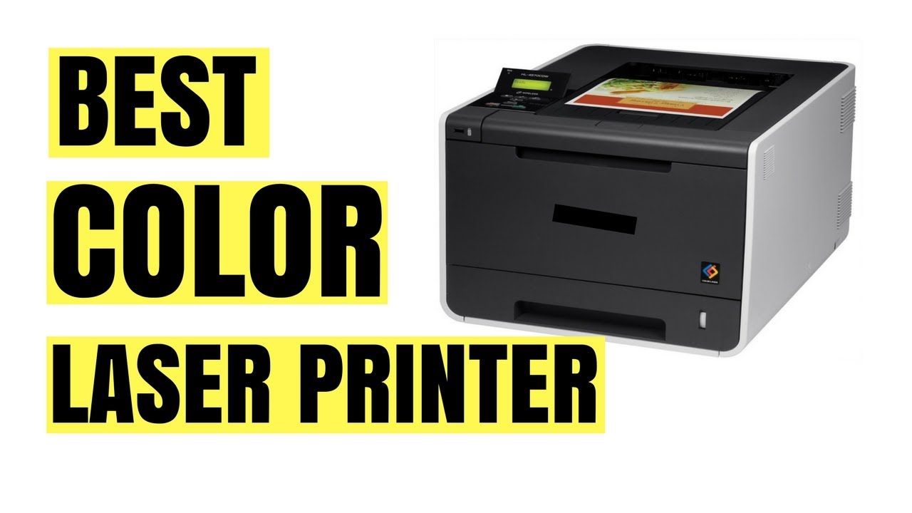 Best color laser printer | Top 5 color laser printer 2017